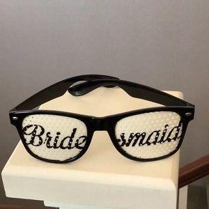 Bridesmaid sunglasses